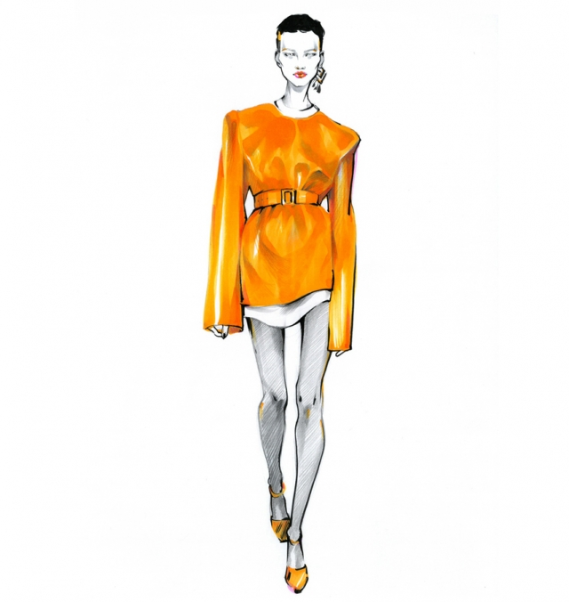 alina_grinpauka_fashion_illustration_jil_sander_runway_preview_closeup_model.jpg