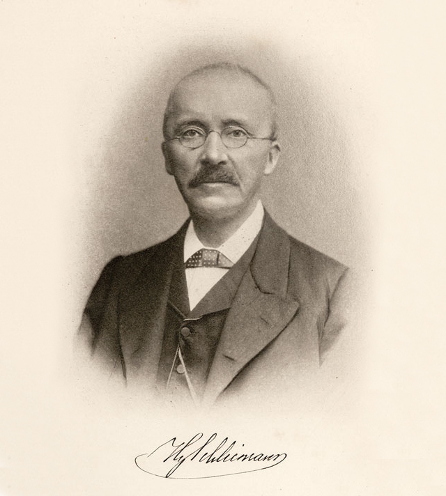 heinrich schlieman How did heinrich schliemann manage to guess that the remnants of mycenae were an ordinary and take note poorly educated boy, heinrich schliemann left his home with.